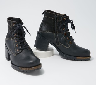 Fly London Leather Lace-up Ankle Boots - Last