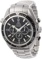 Omega Men's Seamaster Planet Ocean Automatic Chronometer Chronograph Watch 2210.5