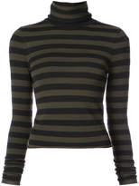 A.L.C. striped roll neck sweater