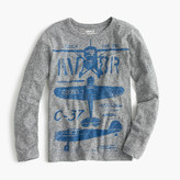 J.Crew Boys' long-sleeve airplane T-shirt in the softest jersey
