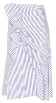 J.W.Anderson Striped Cotton Skirt