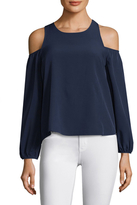 Lucca Couture Michelle Cold Shoulder Blouse