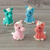 Unicorn Erasers (Set of 4)