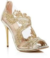 Oscar de la Renta Ambria Embellished High Heel Sandals