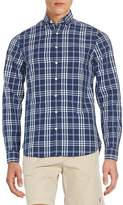 Gant Men's Fitted Plaid Cotton Sportshirt