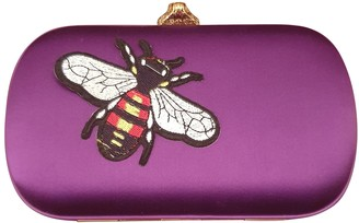 Gucci Animalier Purple Cloth Clutch bags
