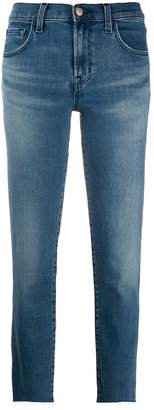 J Brand low rise straight jeans