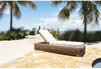 Panama Jack Outdoor Cancun Reclining Chaise Lounge Outdoor