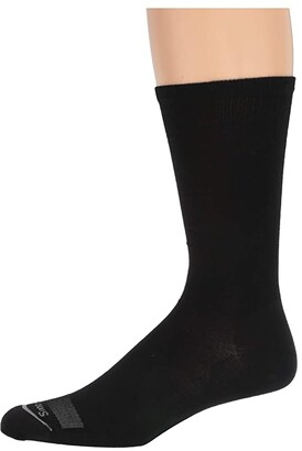 Smartwool Anchor Line (Black 1) Men's Crew Cut Socks Shoes