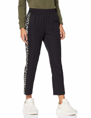 Scotch & Soda Maison Women's Tapered Leg Pants with Contrast Side Panels Trouser