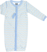 Kushies Light Blue Convertible Gown - Infant