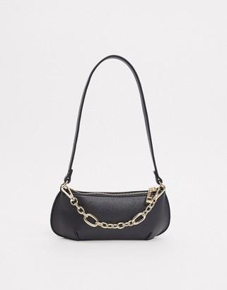 Asos DESIGN 90s shoulder bag with chain