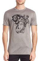 Versace Flocked Medusa T-Shirt