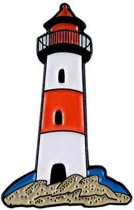 Make Heads Turn Enamel Pin Lighthouse