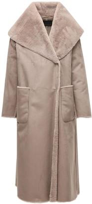 Marina Rinaldi Faux Fur Long Coat