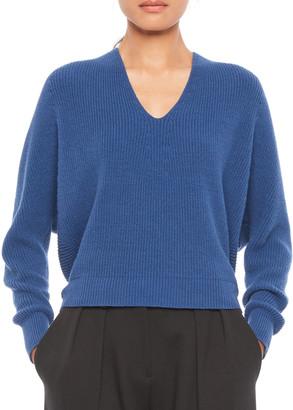 Emporio Armani V-Neck Cashmere-Blend Sweater