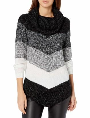 Amy Byer Women's Cowl Neck Sweater