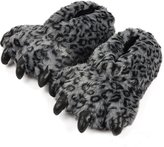 AIZHE Fluffy Unisex 3D Animal Cartoon Winter Plush Paw Slippers