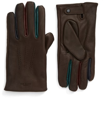 Ted Baker Parm Deerskin Leather Gloves