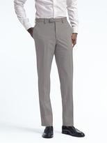 Banana Republic Standard Light Gray Wool Cotton Suit Trouser