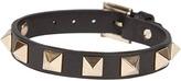 Valentino Rockstud Bracelet Black
