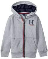 Tommy Hilfiger Matt Logo Hoodie (Toddler/Little Kids)