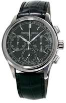 Frederique Constant Flyback Manufacture Chronograph Watch, Black