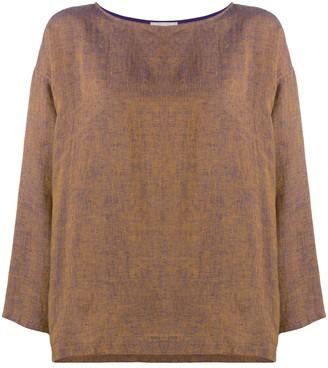 Forte Forte loose-fit linen blouse