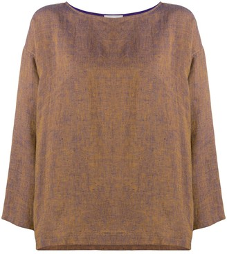 Forte Forte Loose-Fit Linen Blouse