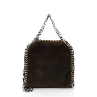Stella McCartney Stella Mc Cartney Falabella Green Leather Handbags