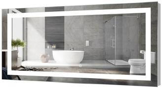 "M.O.D. Kent LED Bathroom Mirror With Touch Sensor, 72""x30"""
