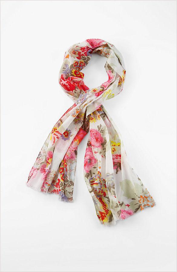 J. Jill Rose garden scarf
