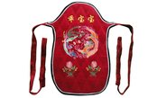 Interact China Genuine Mei Tai Baby Carrier 100% Handmade Art Front Back Sling Wrap Podaegi