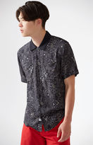 The Hundreds Fig Short Sleeve Button Up Camp Shirt