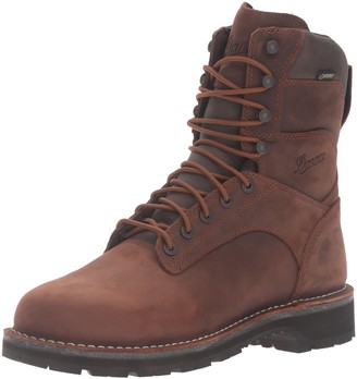 Danner Men's Workman Brown 8-Inch Work Boot - 12 2E US