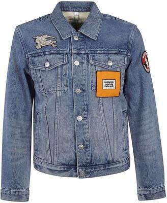 Burberry Patched Denim Jacket
