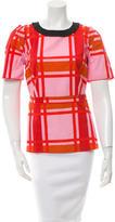 Marni Printed Short Sleeve Top