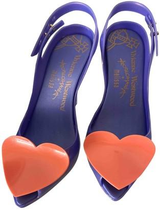 Vivienne Westwood Purple Rubber Heels