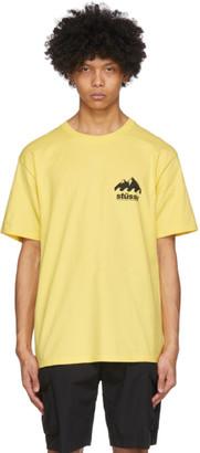 Stussy Yellow Coastline T-Shirt