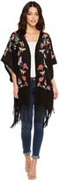 Johnny Was Fairytale Embroidered Kimono Women's Clothing