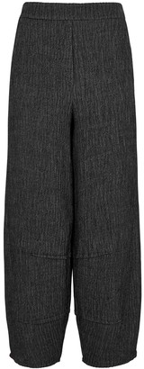 Crea Concept Charcoal Wide-leg Trousers