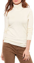 Lauren Ralph Lauren Silk-Cotton Turtleneck Sweater