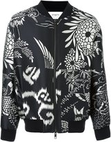 Ports 1961 jacquard bomber jacket - men - Polyester/Cupro/Cotton - 46