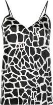 FEDERICA TOSI abstract print cami top