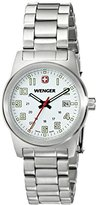 Wenger Women's 72829 Analog Display Swiss Quartz Silver Watch