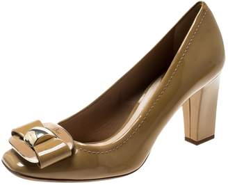 Christian Dior Beige Patent leather Heels