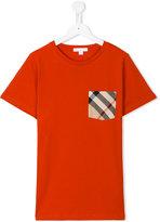 Burberry house check pocket T-shirt