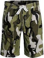 APTRO Men's Quick Dry Board Shorts Camouflage Printed Swimwear 1706 L