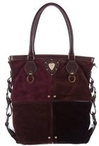 Etro Suede & Leather Tote