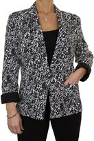 Ice 5129-1) Fully Lined Stunning Event Jacket Washable Ivory